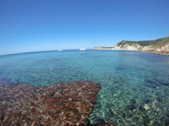 Cala Blanca turquesa - Cala Blanca turquesa - Agua turquesa cristalina