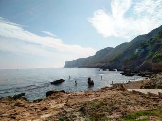 Snorkel en Cala Les Arenetes