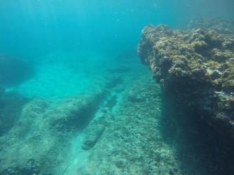 Cala de Dins - Cala de Dins - Formación rocosa, parte profunda de la cala