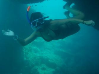 Snorkel en Cala Ambolo
