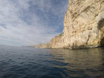 Ruta Granadella Moraig - Ruta Granadella Moraig - Vista panorámica de la ruta, zona de acantilados de roca.