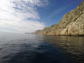 Ruta Granadella Moraig - Ruta Granadella Moraig - Panorámica acantilados de roca.