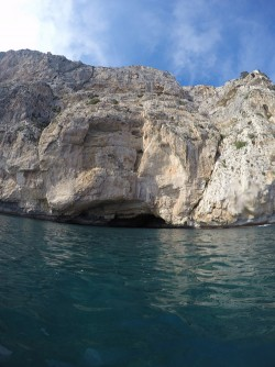 Ruta Granadella - Moraig - Ruta Granadella - Moraig - Cueva en el acantilado.