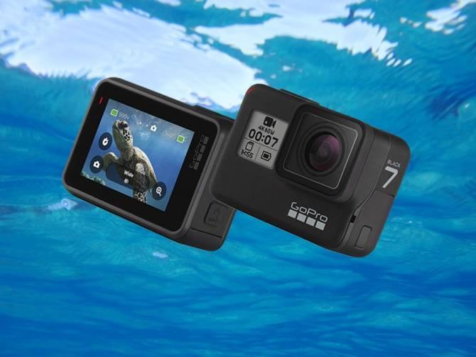GoPro Hero 7 Black pour faire du  Snorkel