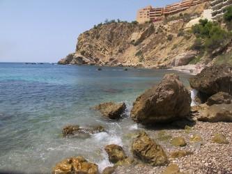 """Cala Collao o """"Racó del Corb"""" : Alicante > Calpe"""
