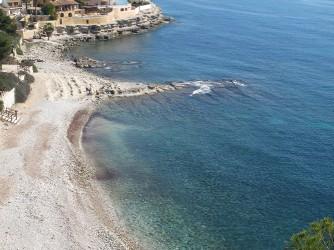 Cala Baladrar : Alicante > Benisa