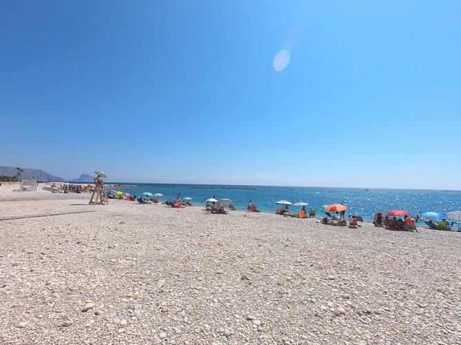 Playa de la Escollera - Playa de la Escollera - Zona urbana con vigilancia y chiringuito.