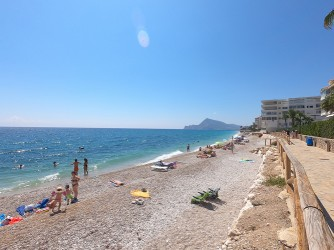 Playa del Cap Negret : Alicante > Altea