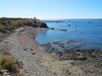 Cala la Seca I : Alicante > Isla de Tabarca