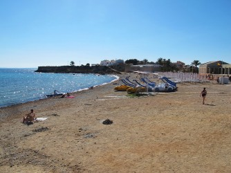 Playa de Tabarca : Alacant > Illa de Tabarca