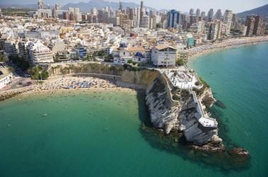 Cala del Mal Passet - Cala del Mal Passet - Mirador del Mediterráneo que divide a la Cala del Mal Pas y la Playa de Levante