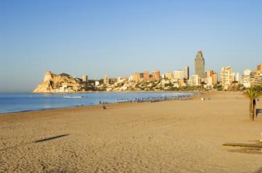 Plage de poniente : Alicante > Benidorm
