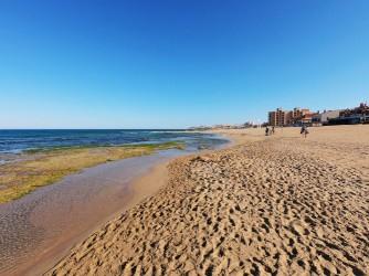 Playa de la Mata - Playa de la Mata - Primera línea de la playa con zonas rocosas.