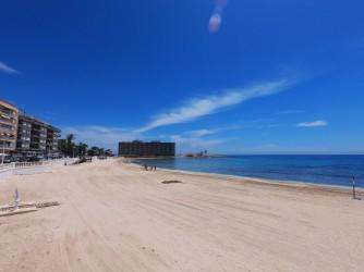 Playa de los Locos - Playa de los Locos - Amplia zona de arena en la parte norte de la playa.
