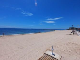 Playa de los Locos - Playa de los Locos - Zona norte arenosa que llega hasta el espigón.