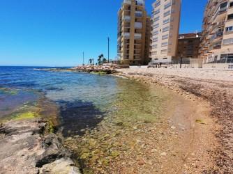 Playacan Punta Margalla - Playacan Punta Margalla - Detalle de la entrada al mar con aguas cristalinas.