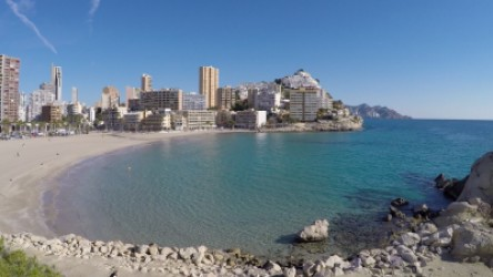 Cala Finestrat - Cala Finestrat - Vista panorámica de la cala Finestrat - Benidorm - Alicante