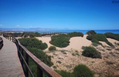 Playa del Carabassí : Alacant > Elx