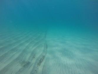 Playa del Torres - Playa del Torres - Fondo marino arenoso con curioso efecto