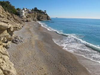 Platja de l'Esparrelló - Platja de l'Esparrelló - Vistes de la platja des del sud-oest.
