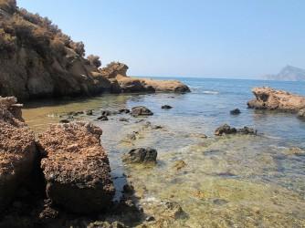 Isla de la Olla - Isla de la Olla - Vistas hacia la Serra Gelada