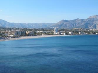Playa del Albir - Playa del Albir - Vista panorámica de la playa