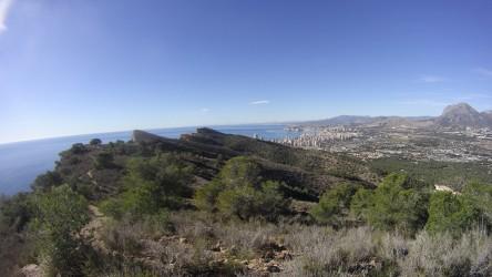 Benidorm - Benidorm - Vista de Benidorm desde la Sierra Gelada
