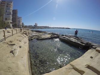 Playa de la Albufereta - Playa de la Albufereta - Piscifactoría romana