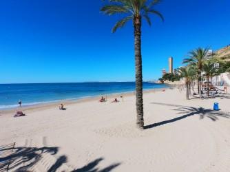 Playa de la Albufereta - Playa de la Albufereta - Zona mirando al oeste.