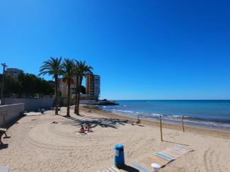 Playa de la Albufereta - Playa de la Albufereta - Zona más al este de la playa.