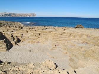 Cala Muntanyar - Cala Muntanyar - Antiga cantera Romana d'on extreien blocs de roca per a les construccions d'aquella época.