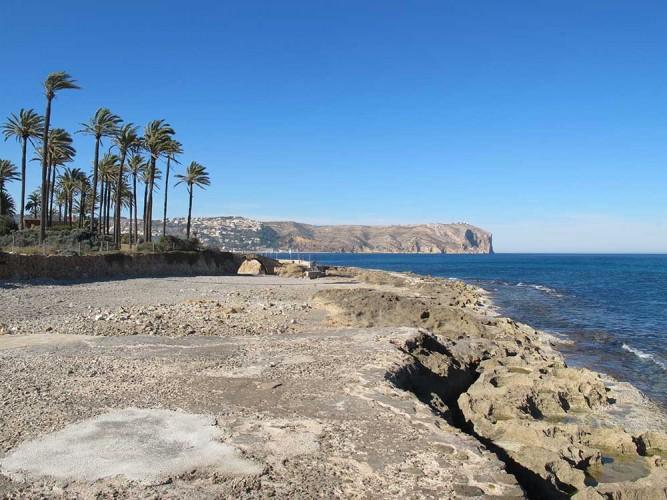 Cala del Ministro - Cala del Ministro - Zona más cercana a la playa del Arenal.