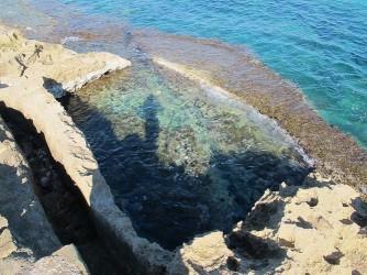 Cala del Ministre - Cala del Ministre - Piscifactoria romana tallada en la roca.