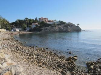 Playa del Amerador - Playa del Amerador - Zona más al norte de la cala, forma otra pequeña bahía. Esta zona con las rocas al fondo son especialmente buenas para hacer snorkel.