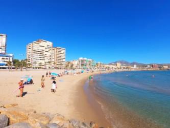 Playa Calle la Mar - Playa Calle la Mar - Panorámica de la playa mirando hacia el norte.