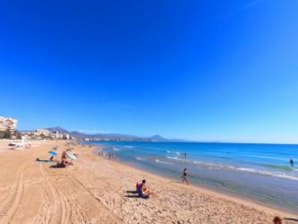 Playa de Muchavista - Playa de Muchavista - Panorámica mirando hacia el norte.