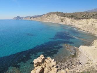 Playa del Charco - Playa del Charco - Acantilados rocosos y arenosos al sur de la Torre Guaita
