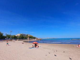 Playa del Cocó - Playa del Cocó - Vistas de la playa hacia el norte.