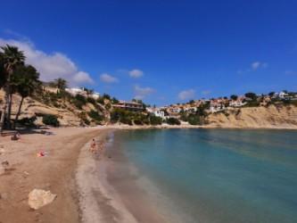 Playa Portet Blanc - Playa Portet Blanc - Panorámica de la playa.