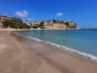 Playa Portet Blanc - Playa Portet Blanc - Primera línea de playa.