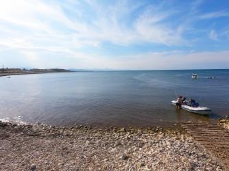 Playa la Almadraba - Playa la Almadraba - Zona central de la playa con acceso para embarcaciones