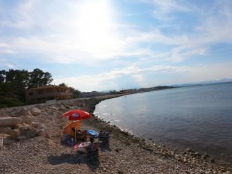 Playa la Almadraba - Playa la Almadraba - Zona de la playa mirando hacia el norte