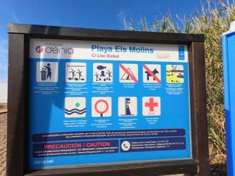 Playa de Els Molins : Alicante > Denia
