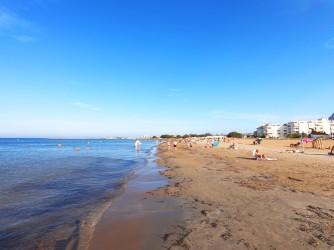 Playa de la Punta del Raset - Playa de la Punta del Raset - Detalle de primera línea de playa.