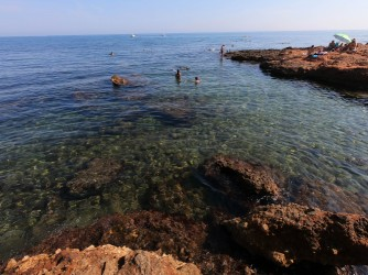 Cala Punta Negra - Cala Punta Negra - Aguas cristalinas ideales para hacer snorkel.