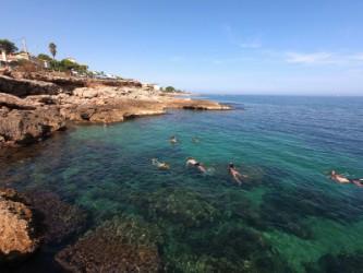 Cala Les Arenetes - Cala Les Arenetes - Zona perfecta para hacer snorkel.